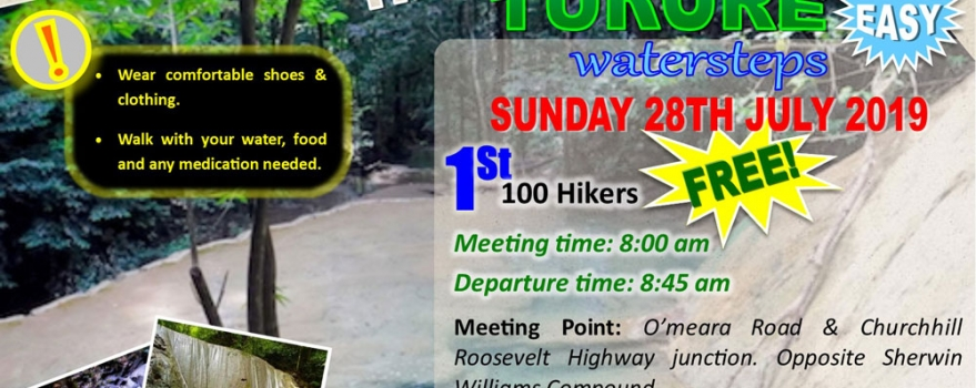 NWRHA – Hiking Event to Turure Watersteps