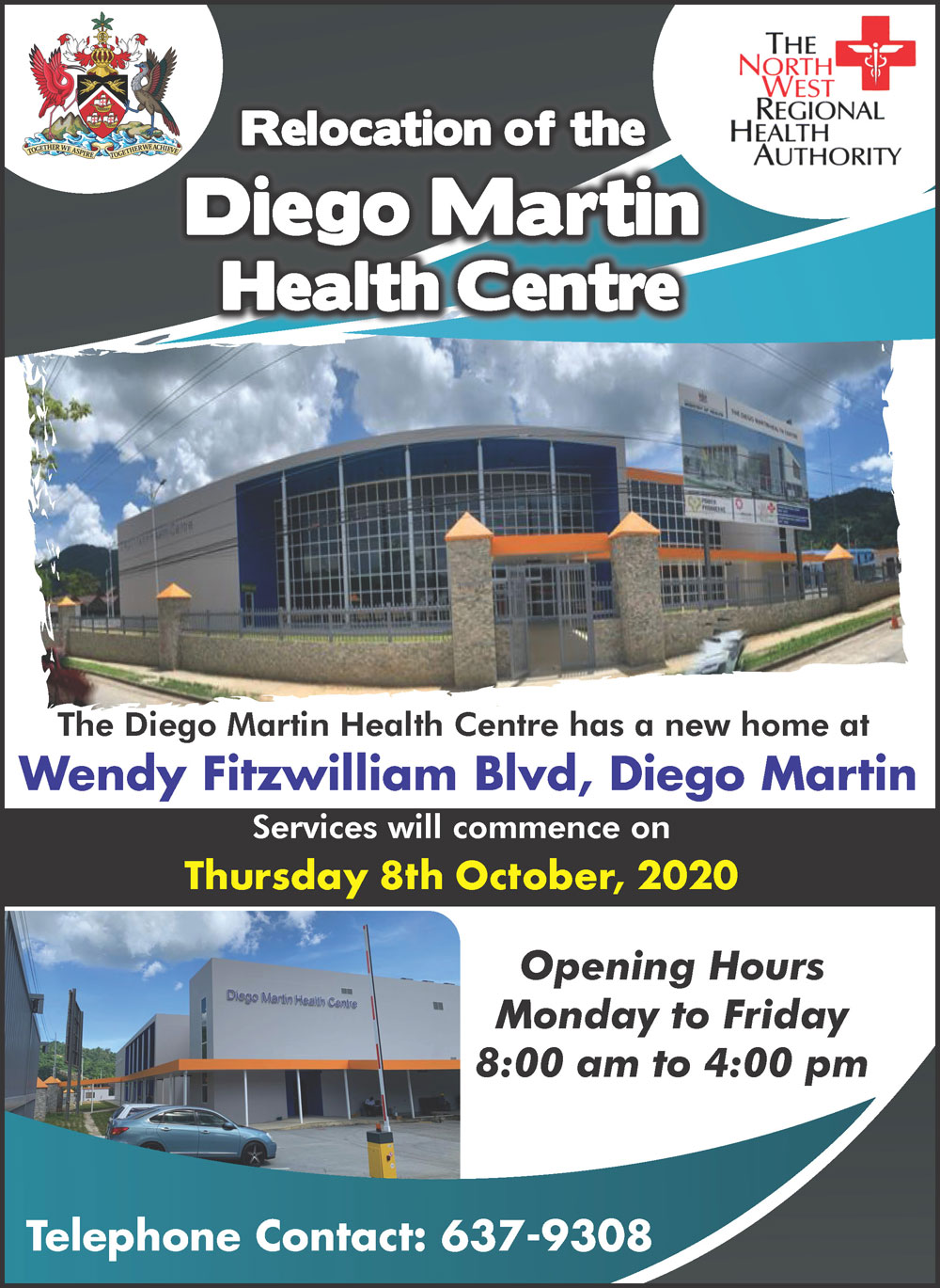Relocation of Diego Martin Health Centre